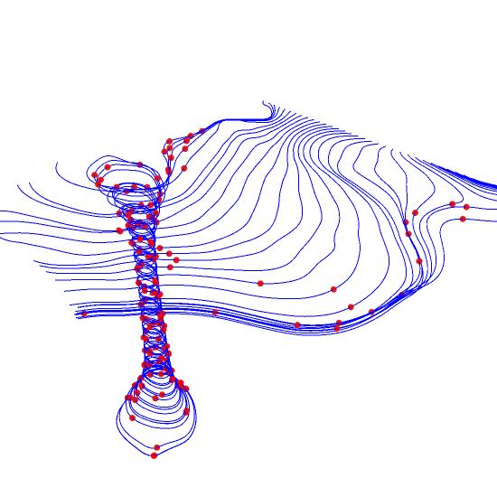 MATLAB 3D Line Plots | Examples | Plotly