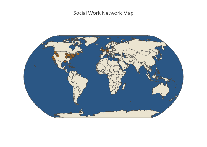 Social Work Network Map